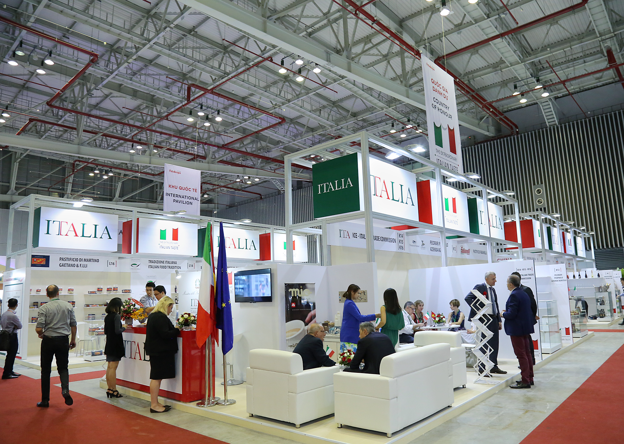 ITA Pavilion at Vietnam Foodexpo 2016