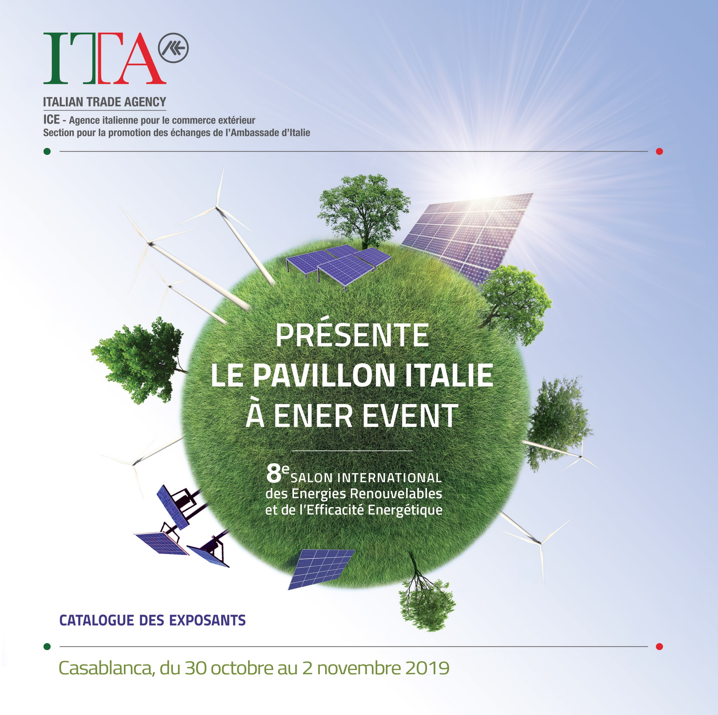 Marocco - Ener Event 2019 Catalogo Collettiva Italiana