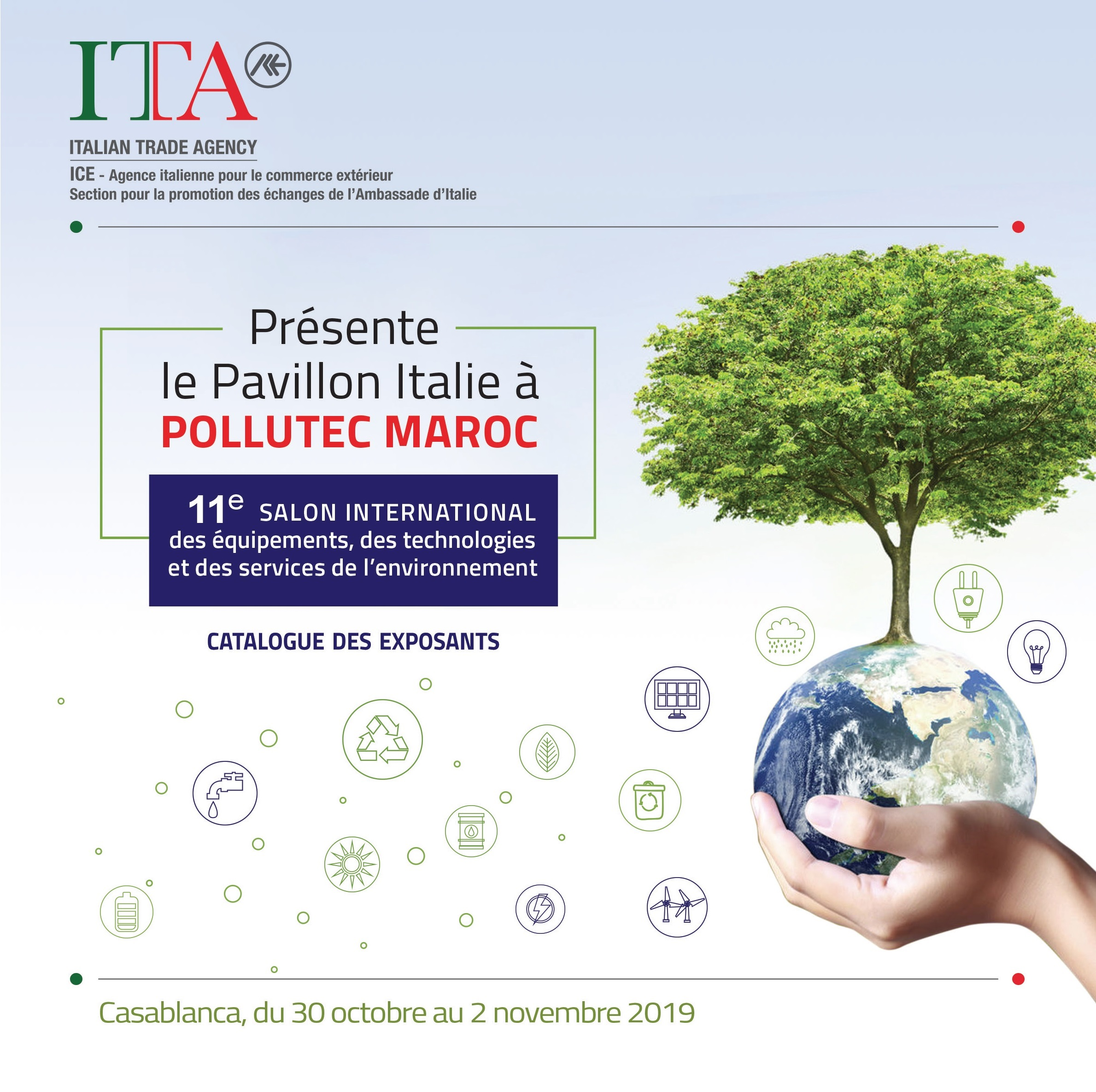 Marocco - Pollutec 2019 Catalogo Collettiva Italiana
